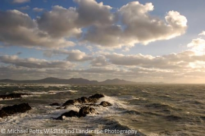 Winter Seas off Llanddwyn Island